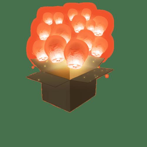 Balloon Corail x50