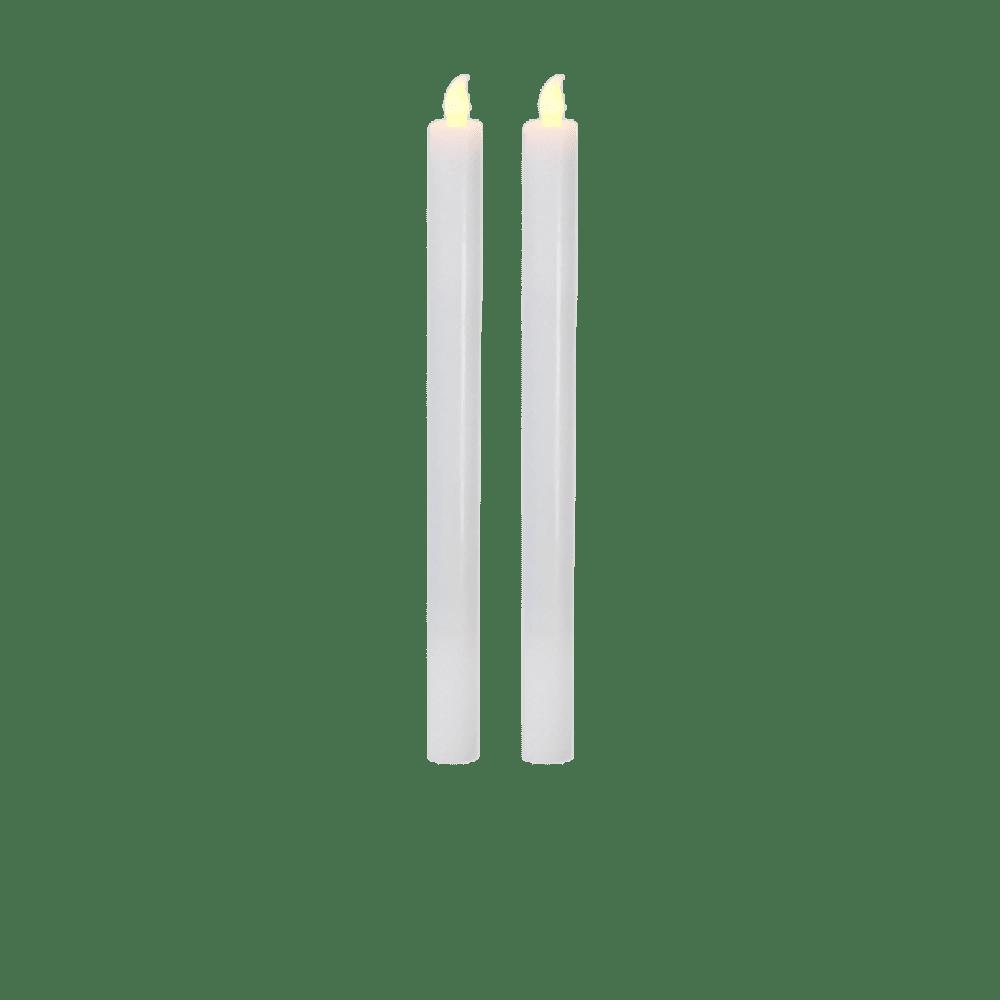 Chandelles LED Blanc x2