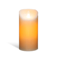 Bougie Led Flamme Vacillante Blanc 20 cm