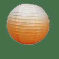 Déco Soirée Mariage & Fête, Anniversaire, Fête Boule Papier 40Cm Dégradé Orange (Lot De 3 Pièces)