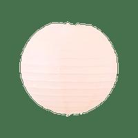 Boule papier 20cm Saumon