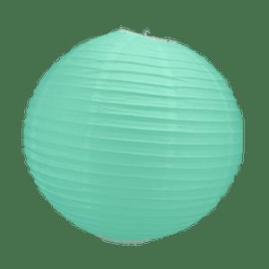 Boule Papier Vert Eau 30 cm x3