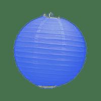 Boule Papier Bleu Roi 20 cm x10