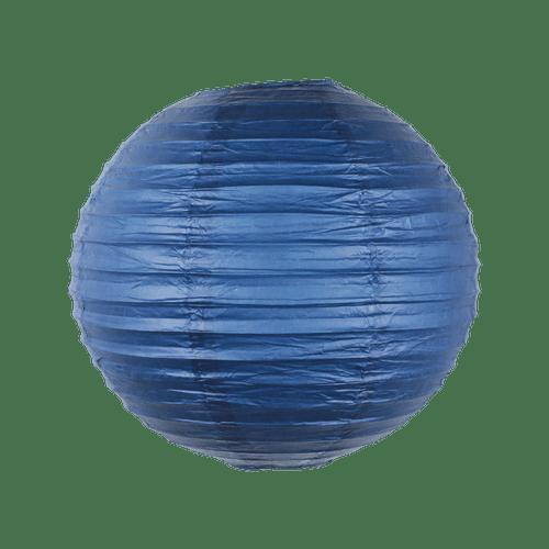 Boule Papier 30cm Bleu Navy