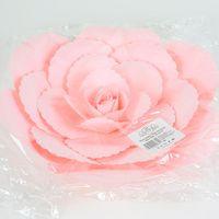Fleur En Papier Rose Ancienne Rose Pâle 30 cm