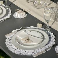 Set de table Dentelle Blanc 35 cm x10