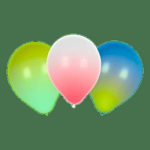 Ballon LED Blanc, Vert et Bleu