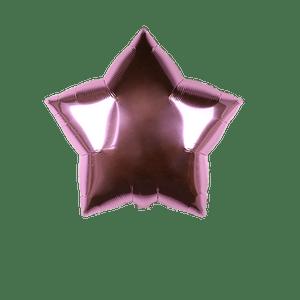 Ballon Étoile Rose Pastel 55 cm