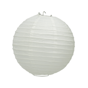 Boule Papier Blanc 20 cm x3