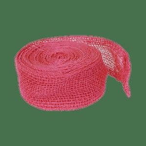 Ruban Jute Fuchsia