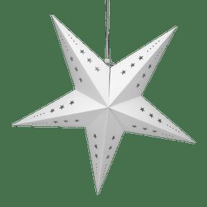 Etoile déco blanche 60cm