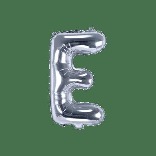Ballon Lettre E Argent 35 cm