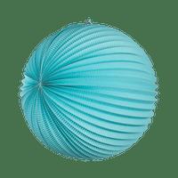 Lampion rond 36 cm Aqua Marine