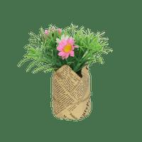 Sachet À Fleur Fausse fleur Jutte Rose et Blanc