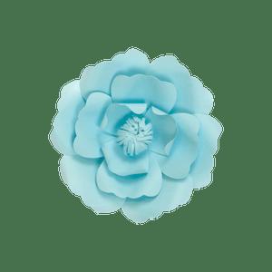 Fleur En Papier Anémone Turquoise 20 cm