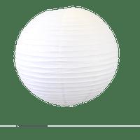 Deco Mariage, Fête, Anniversaire Boule Papier 50Cm Blanc (Lot De 3 Pièces)