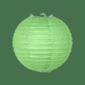 Boule papier 20 cm Vert Sauge