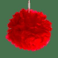 Pompons Rouge 40cm x2