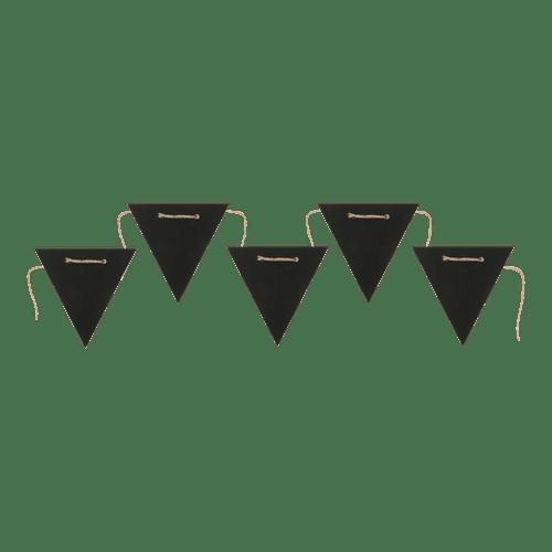 Guirlande Fanion Noir 1,25M