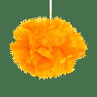 Pompons Orange 40cm x2