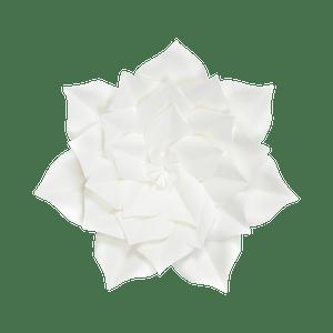Fleur En Papier Gardénia Blanc 30 cm