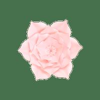 Fleur En Papier Gardénia Rose Pâle 20 cm