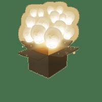 Balloon Blanc x50