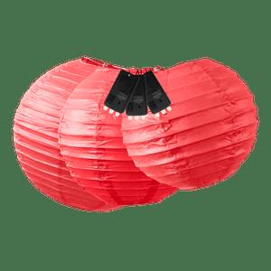 Boules + LED Rouges