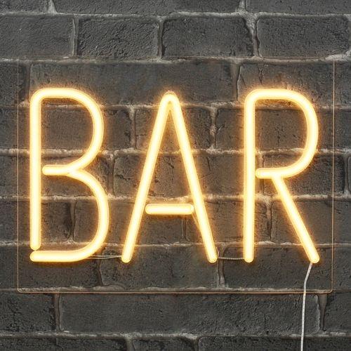 Lampe Neon BAR Blanc 40 cm