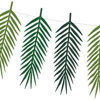 Guirlande Feuilles de Palmier Vert 1,25m