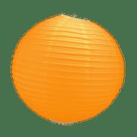 Boule Papier Orange 30 cm x3