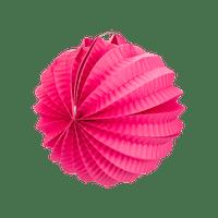 Lampion rond 20 cm Fuchsia