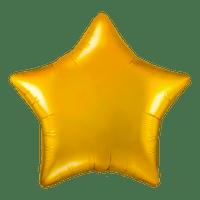 Ballon Étoile Or 48 cm