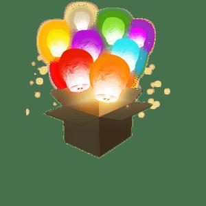 Balloon Multicolores x6