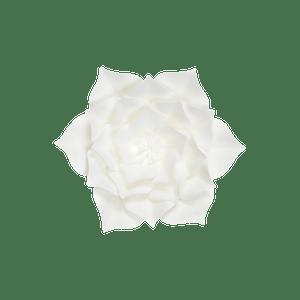 Fleur En Papier Gardénia Blanc 20 cm