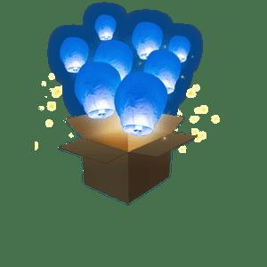 Balloon Bleu Roi x3