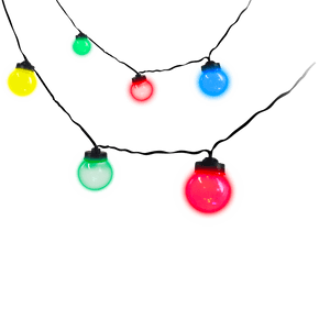 Guirlande Guinguette Multicolore 20 Bulbes 10M