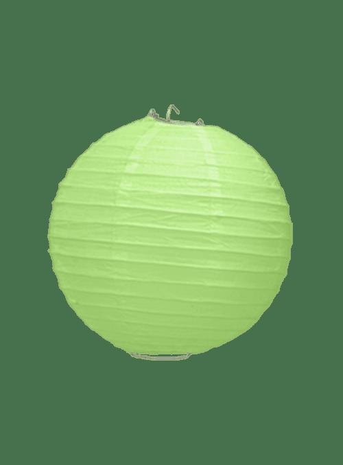 Boule Papier Vert 20 cm x3