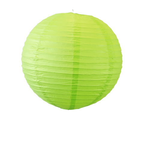 Décoration De Mariage, Fête, Anniversaire Boule Papier 30Cm Vert (Lot De 5 Pièces)