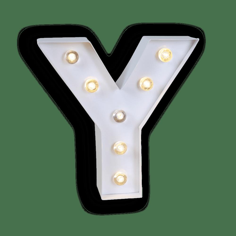 Lettre Lumineuse Y