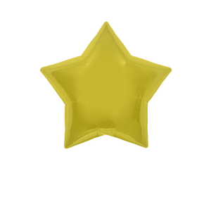 Ballon Étoile Or 55 cm