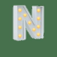 Lettre Lumineuse N