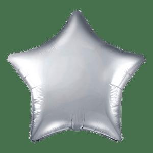 Ballon Étoile Argent 48 cm