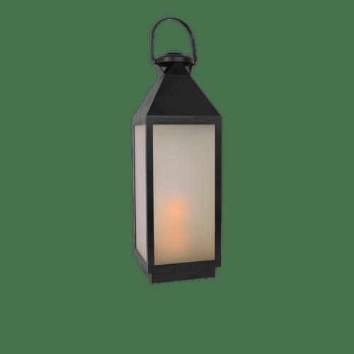 Lanterne Effet Flamme 59cm