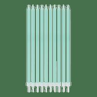 Grande Bougie Anniversaire menthe 15 cm x10