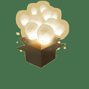 Balloon Blanc x10