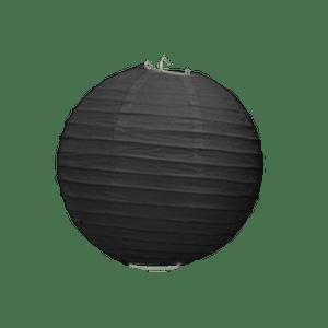 Boule Papier Noir 10 cm x10