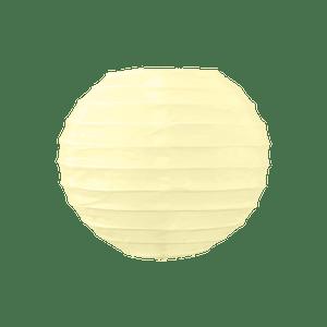 Boule Papier 10cm Ivoire (Nouvelle Collection)