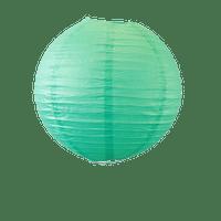 Décoration De Mariage & Fête Boule Papier 30Cm Vert D'Eau (Lot De 5 Pièces)