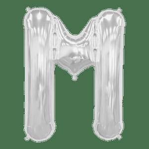Ballon Lettre M Argent 90 cm